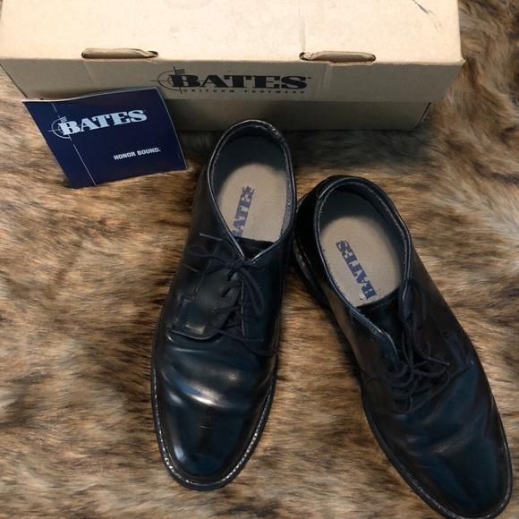 Bates Uniform Footwear Leather Oxford